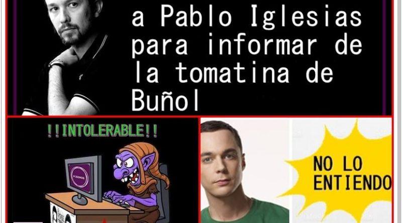 La 1 de TVE corta a Pablo Iglesias