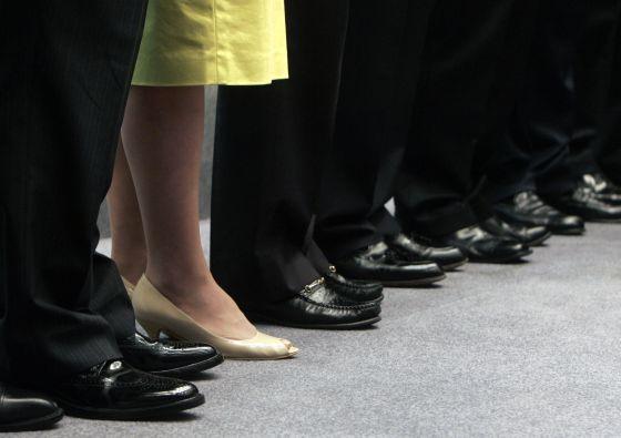 Las mujeres ocupan el 22% de los puestos directivos en España.