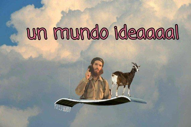 Meme del terrorista islámico conocido como El Cordobés
