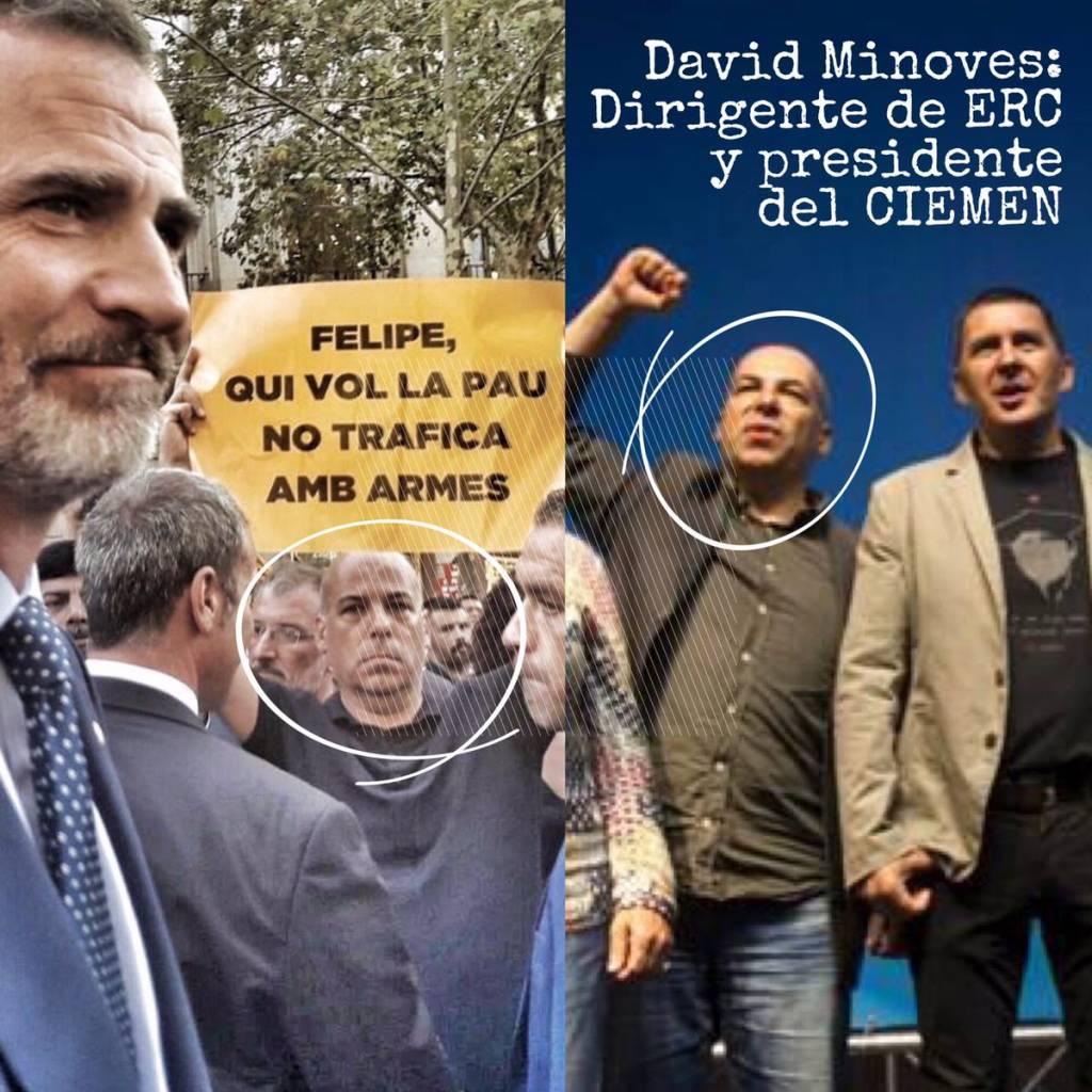 Minoves, insulta a jefes de Estado en manifestaciones antiterroristas y monta fiestas a terroristas