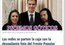 Pedro Sánchez con los góticos de Podemos en pleno asalto del cielo con la Narbona desaladora de alcaldesa