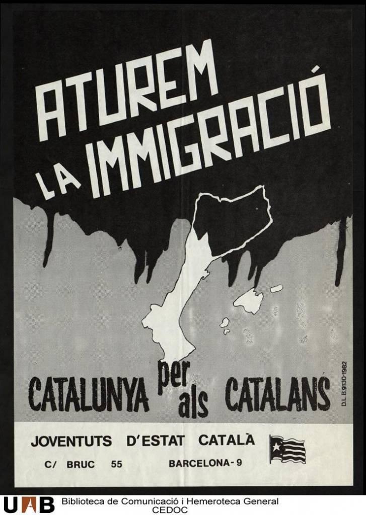 Qué les parece este cartel de Estat Catalá