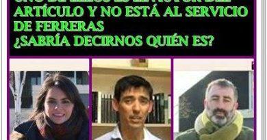 Sabría decirnos quién de estos tres periodistas no está al servicio de Ferreras