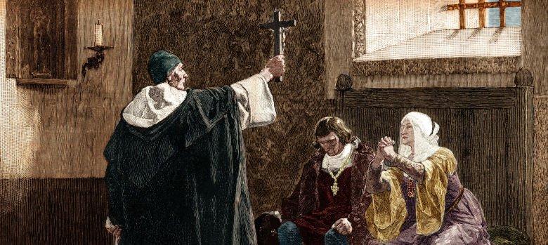 Torquemada y los Reyes Católicos, principales perpetradores de la expulsión de los judíos