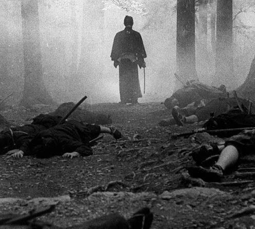 Un samurái no piensa en términos de victoria o derrota, simplemente combate hasta la muerte