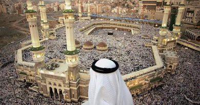 A mirar todos a la Meca