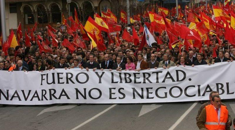 Desgraciadamente, encontrar una bandera de Navarra a la venta en Pamplona en ocasiones puede ser una misión imposible.