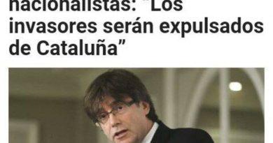 Despues del referendum todos los Invasores, charnegos y fachas-facistas seran expulsados de Catalonia
