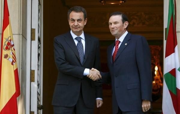 El MMMBS recibe al presidente de la C.A. del País Vasco, con honores de Jefe de Estado.