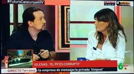 El machismos de Pablo Iglesias ataca otra vez