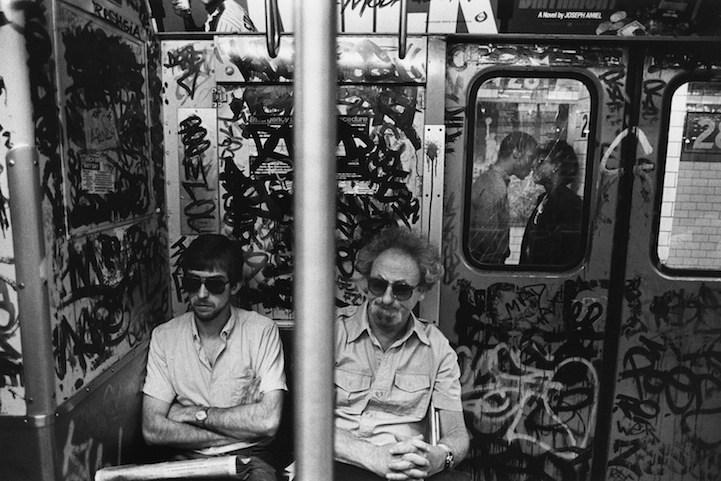 El metro de New York antes de la intervención de Giuliani
