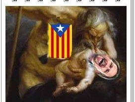 El proceso separatista de Cataluña