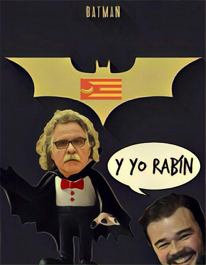 Héroes catalufos - Batman y Robin