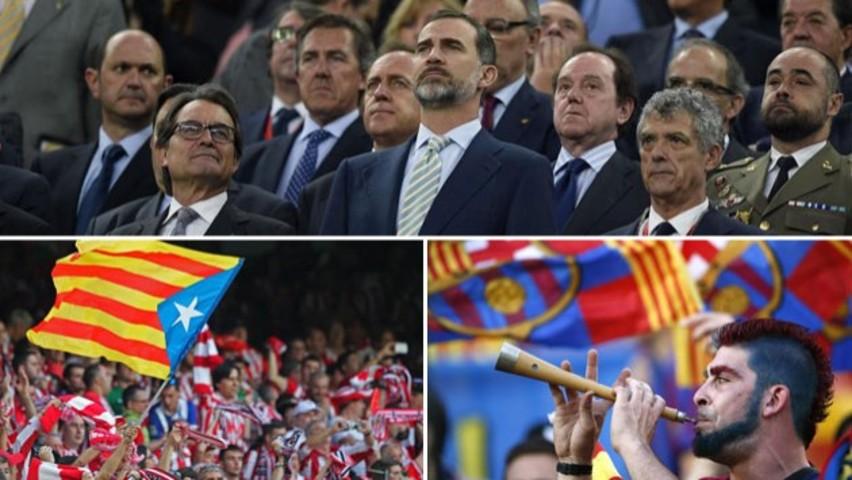Atronadora pitada al himno de España en el Camp Nou