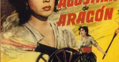 Cartel de la película Agustina de Aragón
