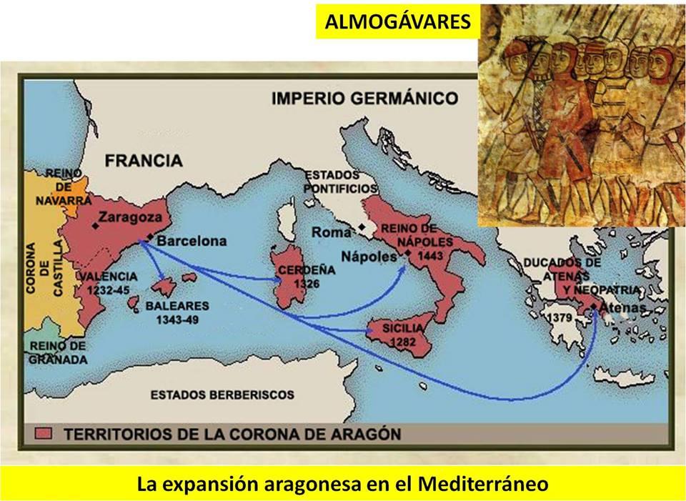 Corona de Aragón, nada del invento separatista de confederación catalano-aragonesa.