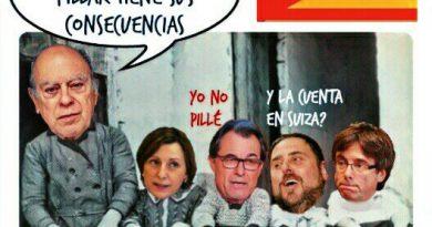 Jordi Pujol. El gran problema. Ilustración de LInda Galmor