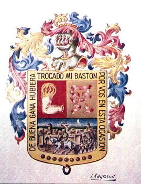 Escudo del regimiento.