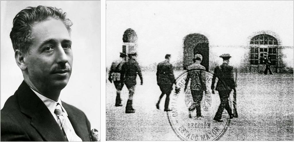 Esta es la fotografía del 15 de Octubre del 1940. El fusilamiento de Luis Companys
