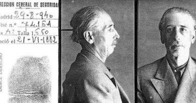 Hoy es el ANIVERSARIO DEL FUSILAMIENTO DE UN GENOCIDA (Luis Companys). Documento histórico de sus firmas de muerte