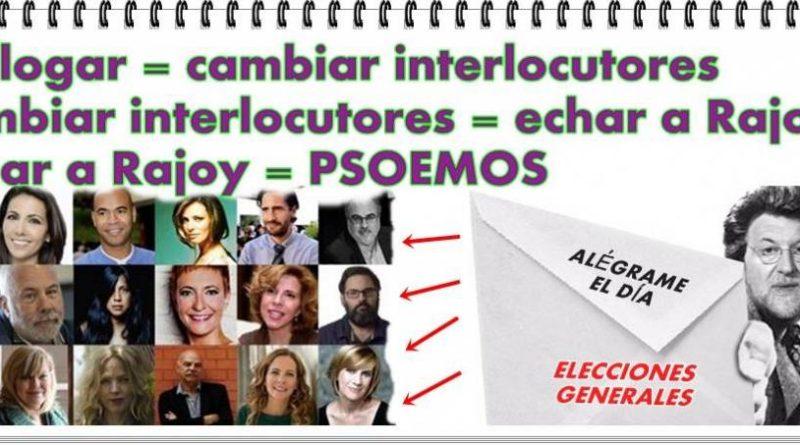La nueva mantraconsigna de la izquierda española