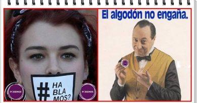 LaSexta, eldiario.es, infoLibre y Público insisten en el blanqueado de Podemos, pero el algodón no engaña.