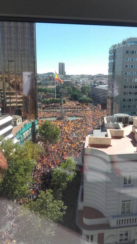 Manifetación de Madrid