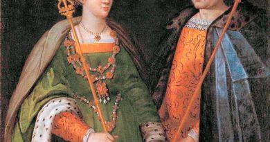 Petronila y Ramon Berenguer IV. Pintura del siglo XVI