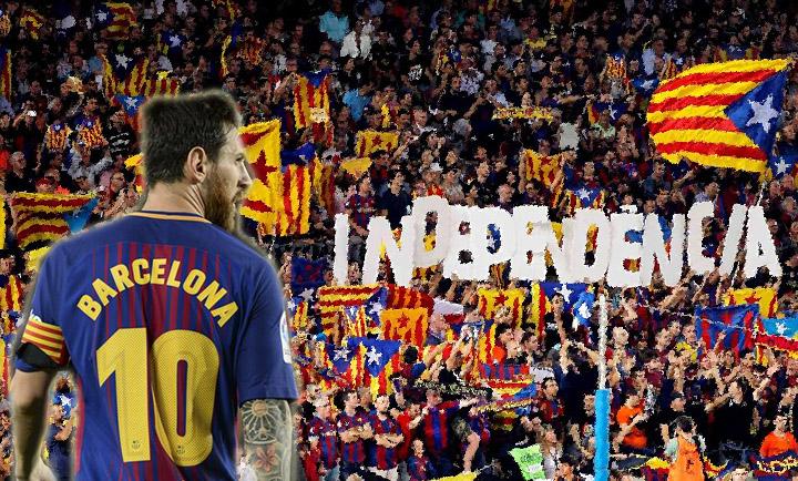Qué piensa Messi del movimiento independentista catalán