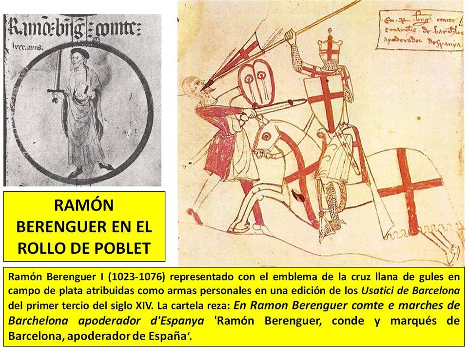 Ramón Berenguer en el Rollo de Poblet