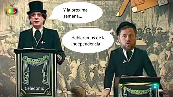 Y la próxima semana hablaremos de la independencia