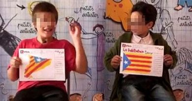 adoctrinamiento de los niños en las escuelas