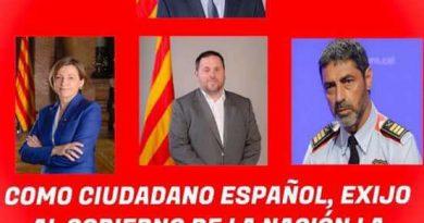 como ciudadano español exijo