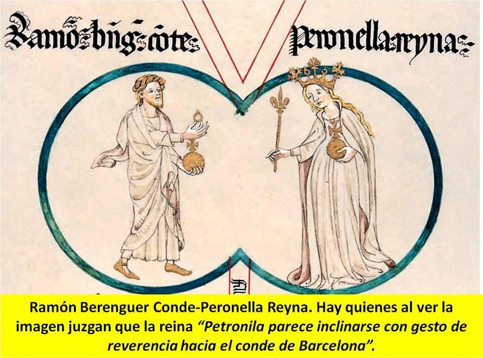 matrimonio del Conde Ramón Berenguer IV en 1137 con Dª. Petronila de Aragón