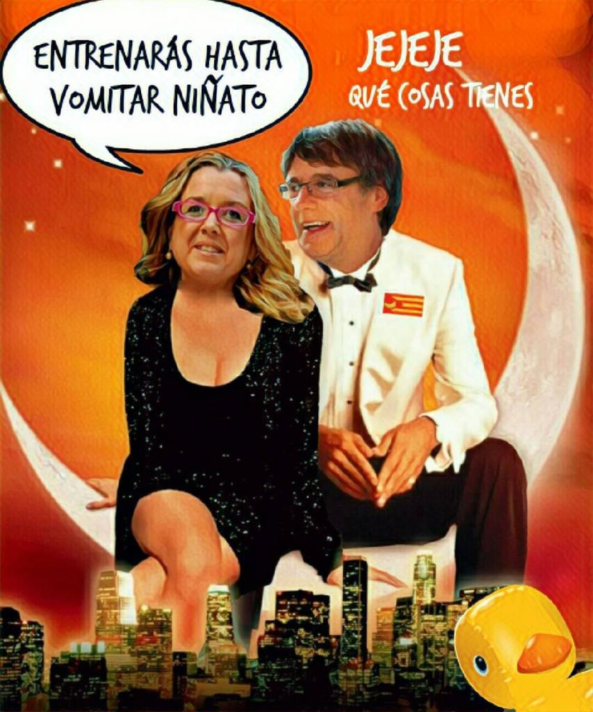 Anna Tarrés es otro de los super fichajes de Puchemón para su lista electoral. Ilustración de Linda Galmor