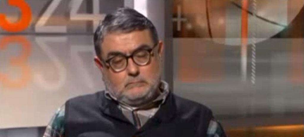 Carlos Sastre, un asesino y recibido como un héroe en TV3