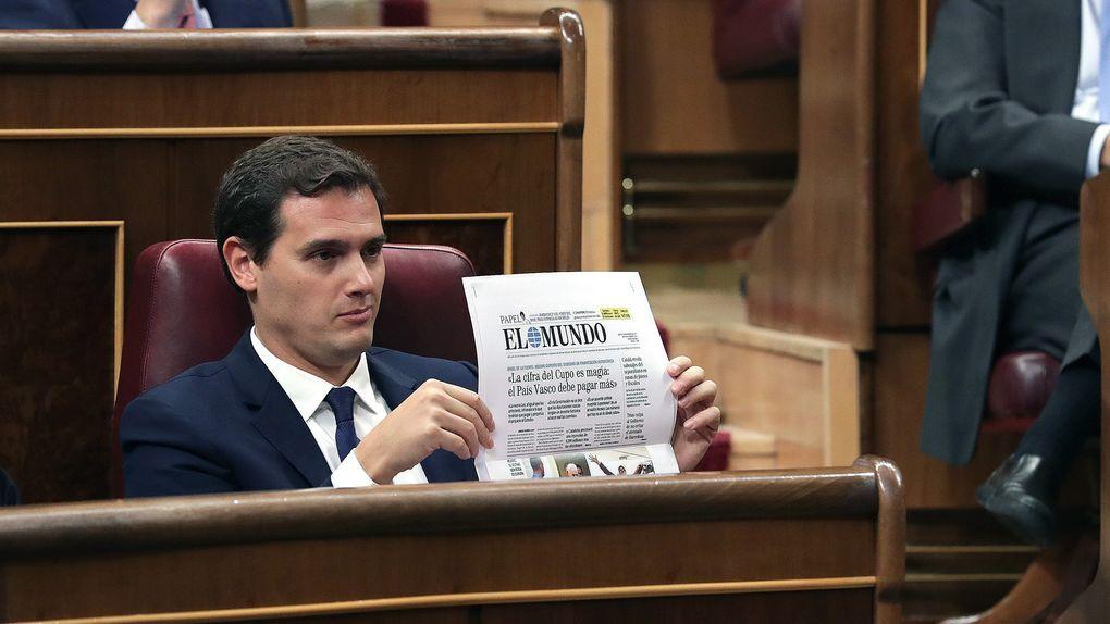 El Congreso aprueba el Cupo vasco y Rivera se queda solo ante el peligro