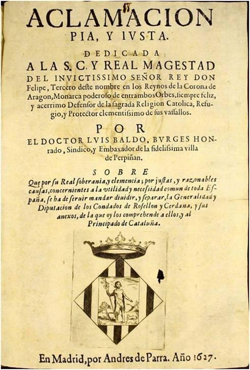 En 1627, el Rosellón pidió al Rey separarse de Cataluña