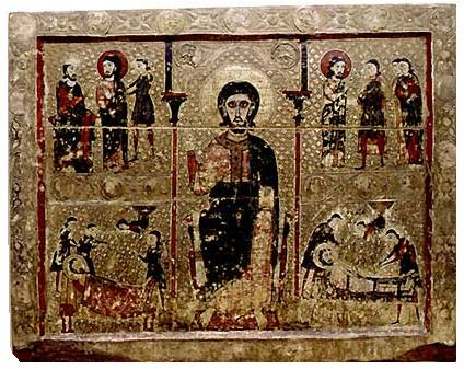 Frontal de altar de San Vicente Trassera