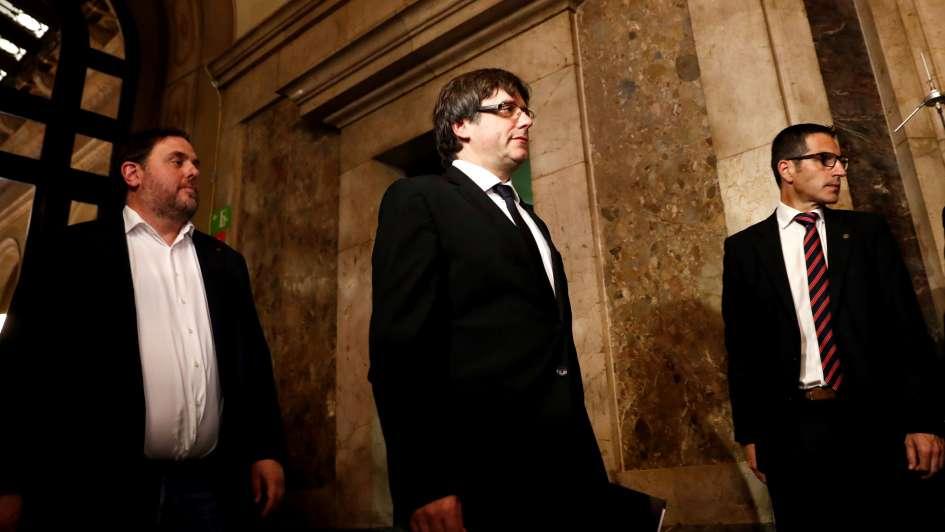 Gobierno catalán firmó la independencia