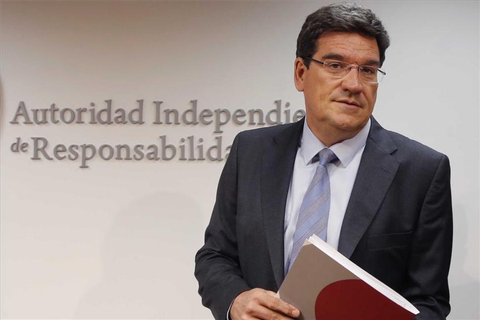 José Luis Escrivá, presidente de la Autoridad Independiente de Responsabilidad Fiscal