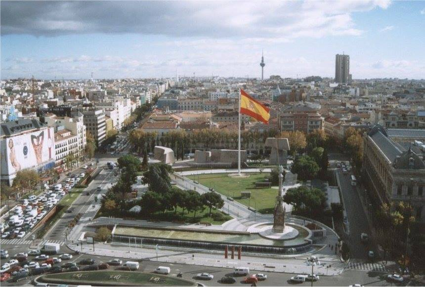 La Plaza de Colón. Madrid