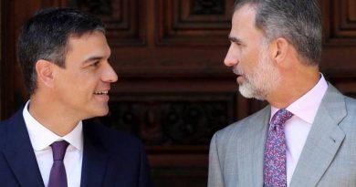 Pedro Sánchez y el rey Felipe se reúnen en el Palacio de Marivent de Palma