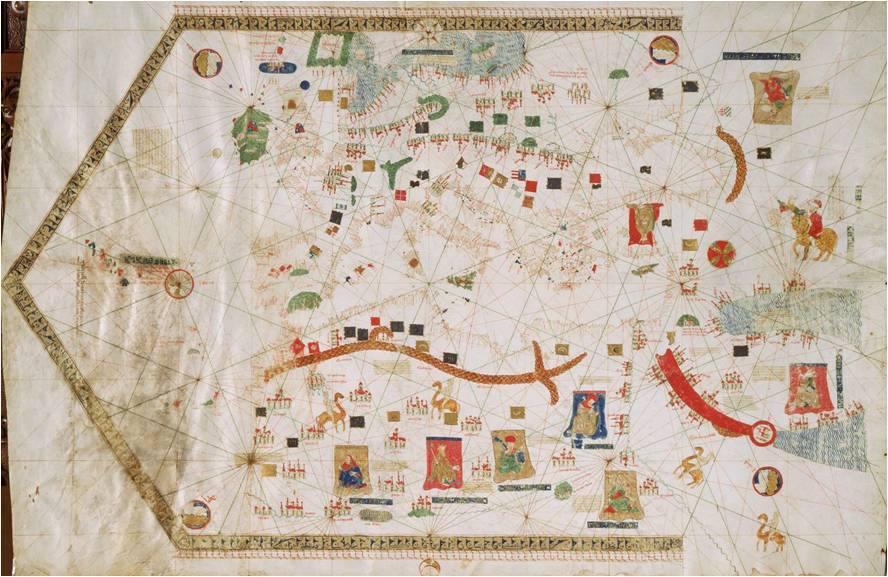 Portulano de Gabriel de Vallseca 1439