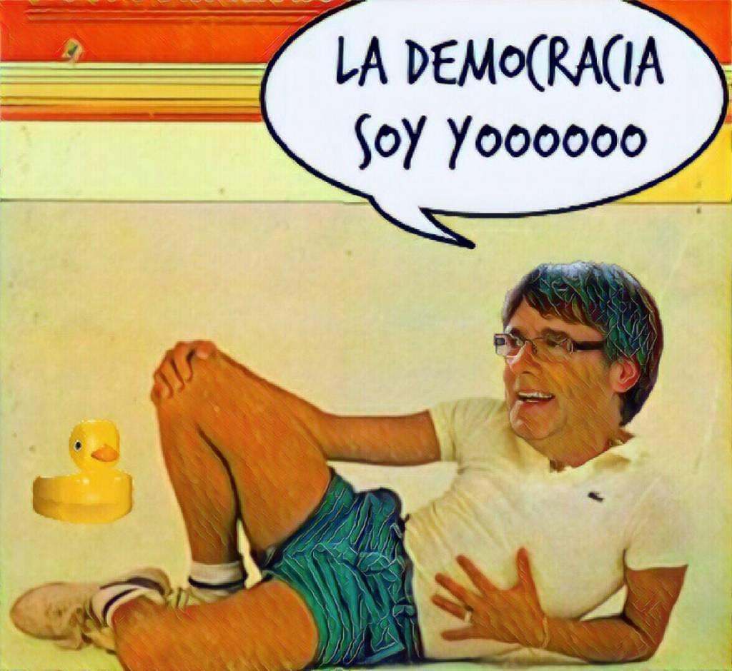 Tocata y Fuga de Carlitos Puchemón ya en su salsa atendiendo a medios internacionales