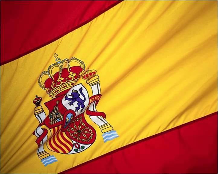 Soy español y esta es mi bandera