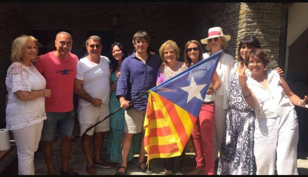 el Govern Catalán junto a OMNIUN y ANC, se trata de un grupo organizado para el delito