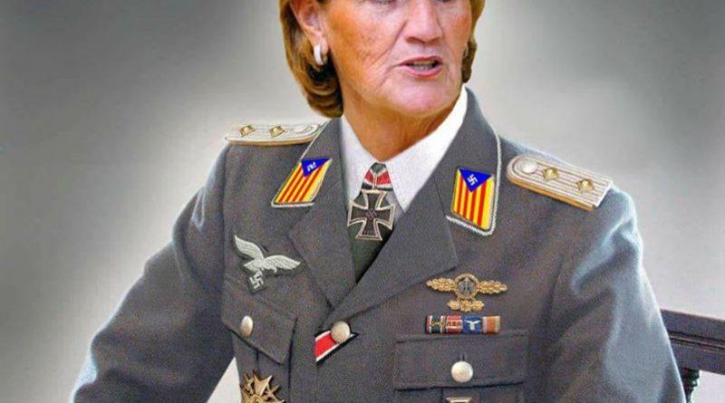 la fascista Núria de Gispert  publica el nombre del colegio donde estudia la hija de Albert Rivera