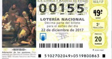 0,0155 EL BILLETE DE LOTERÍA TENÍA LA RAZÓN.