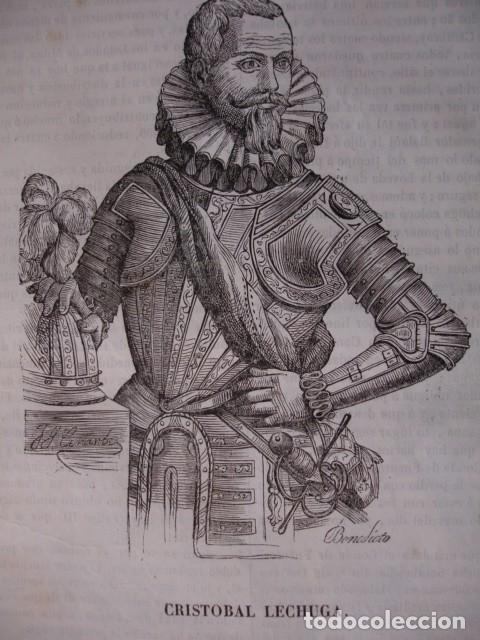 Bobadilla, que había reconocido el mejor modo de llegar a las isletas y cuáles convenía ocupar, ordenó en consecuencia al Sargento Mayor Cristóbal Lechuga que tuviera listos doscientos hombres